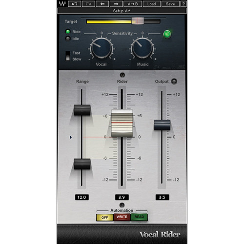 Waves Vocal Rider - Automatic Level-Riding Plug-In (Native)