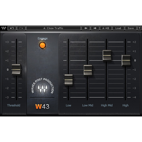 Waves W43 - Noise Reduction Plug-In (Native)