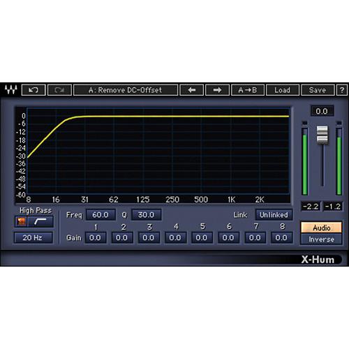 Waves X-Hum - Hum Removal Plug-In (TDM)