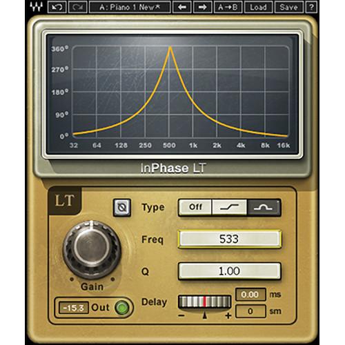 Waves InPhase LT - Creative Phasing Plug-In (TDM)