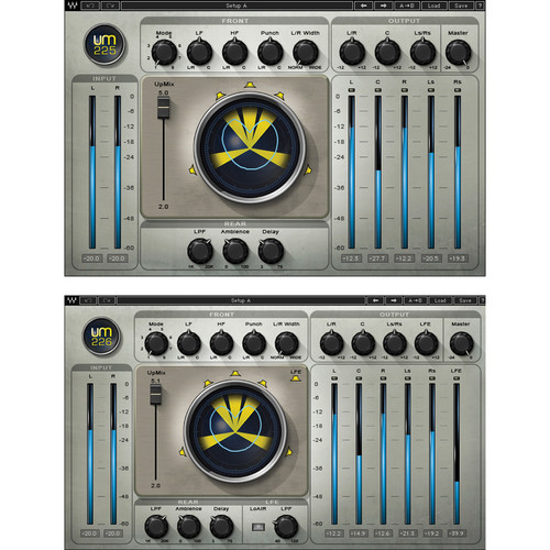 Waves UM225 & UM226 - Stereo-to-Surround Sound Processing Plug-Ins (TDM)