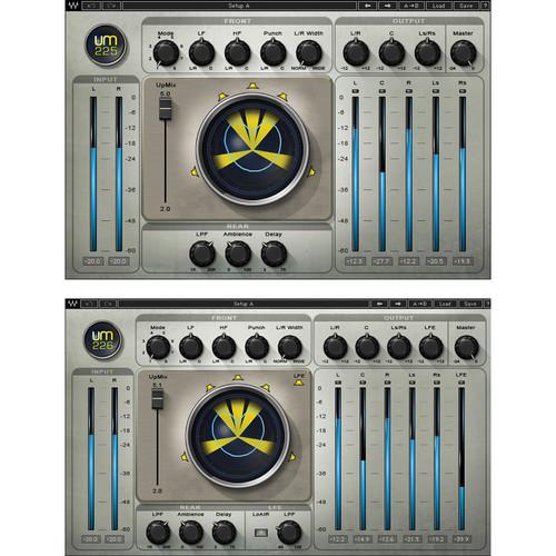 Waves UM225 & UM226 - Stereo-to-Surround Sound Processing Plug-Ins (TDM)