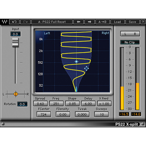 Waves PS22 Stereo Maker - Spatial Enhancement Plug-In (TDM)