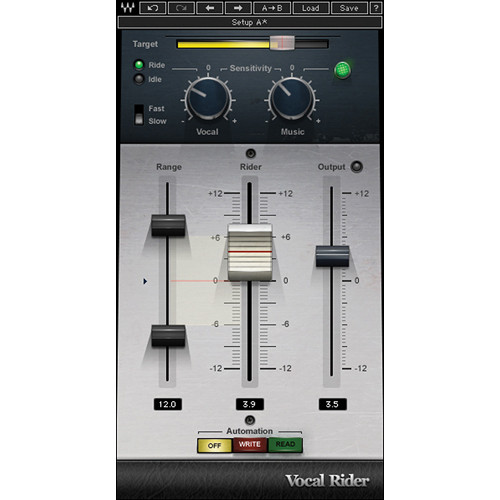 Waves Vocal Rider - Automatic Level-Riding Plug-In (TDM)