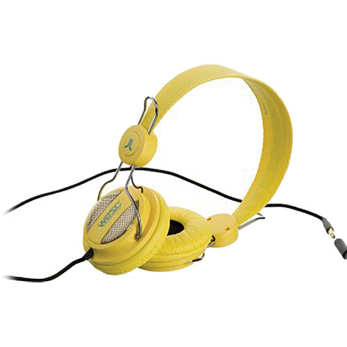 WeSC Oboe On-Ear Stereo Headphones (Vibrant Yellow)