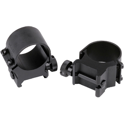 "Weaver Detachable Top Mount 1"" High SS Riflescope Ring (Stainless Steel)"