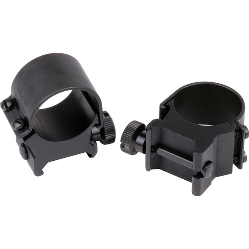 "Weaver 1"" Detachable Top Mount Rings (2-Pack, Med)"