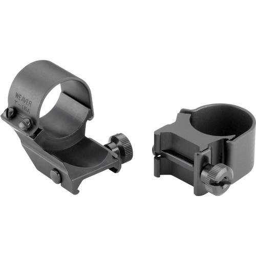 "Weaver Detachable Top Mount 1"" High Extension Riflescope Ring (Matte)"