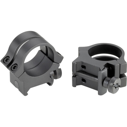 "Weaver Quad-Lock 1"" Medium Riflescope Rings (Matte)"