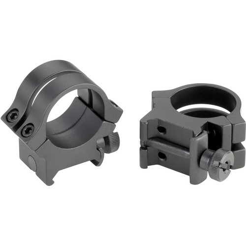 "Weaver Quad-Lock 1"" High Riflescope Rings (Matte)"