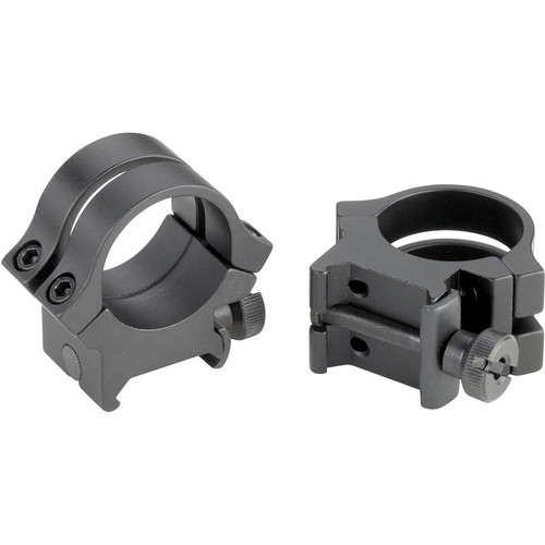 "Weaver Quad-Lock 1"" High Extension Riflescope Rings (Matte)"