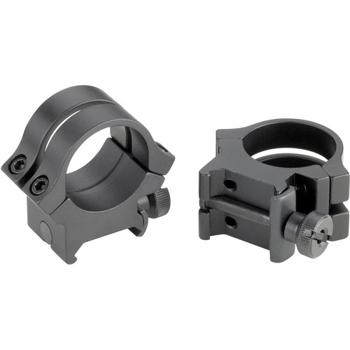 "Weaver Quad-Lock 1"" X-High Riflescope Rings (Matte)"