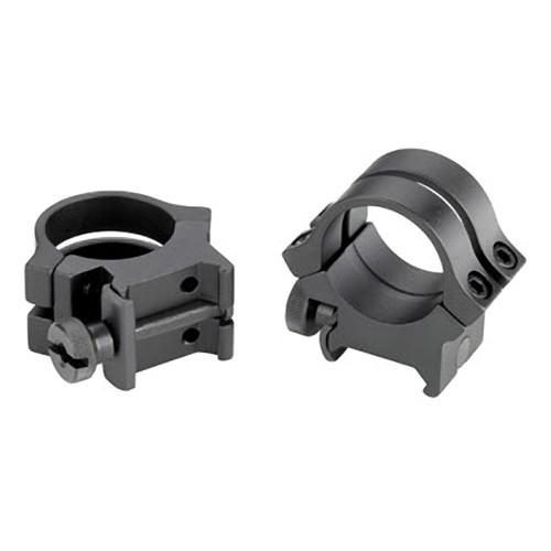 "Weaver Quad-Lock 1"" High Riflescope Rings (Black)"