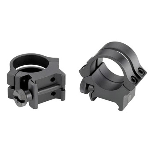 "Weaver Quad-Lock 1"" High Extension Riflescope Rings (Black)"