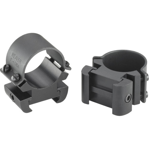 "Weaver Sure Grip Windage Adjustable 1"" X-High Riflescope Rings (Matte)"