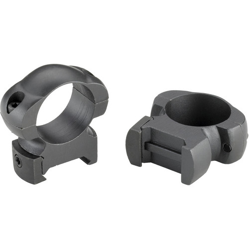 "Weaver Grand Slam Top Mount Steel 1"" High Riflescope Rings (Black)"