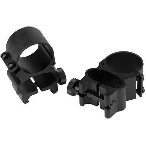 "Weaver Detachable Top Mount See-Thru 1"" Extension Riflescope Rings (Black)"