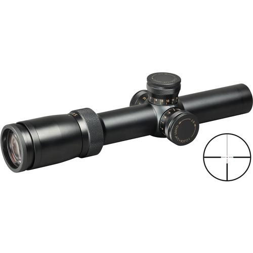 Weaver 1.5-6x24 Super Slam Euro-Style Riflescope (Matte Black)
