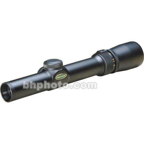Weaver 1-3x20 V-3 V-Series Riflescope w/ Dual-X - Matte Black