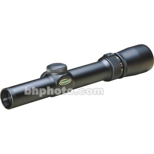 Weaver 1-3x20 V-3 V-Series Riflescope w/ Dual-X - Matte Black
