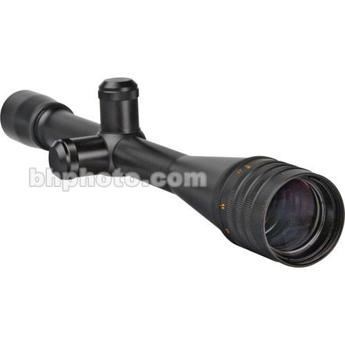 Weaver 36x40 T-36 Adjustable Objective (Fine Crosshair 1/8 MOA Dot, Satin Black)