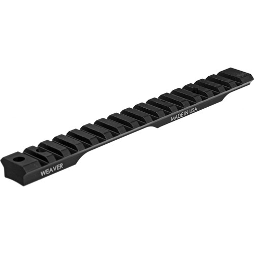 Weaver Extended Multi-Slot Base (Remington 700 SA, Matte Black)