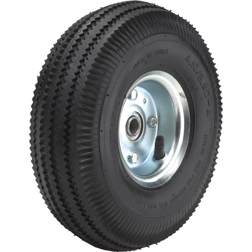 "Wesco 10"" Pneumatic Offset Wheel"