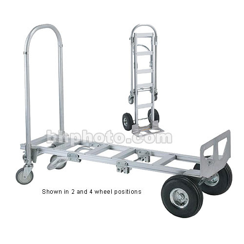 Wesco Spartan Senior Convertible Handtruck (Weight Capacity: 1000 lb with 4 Wheels)