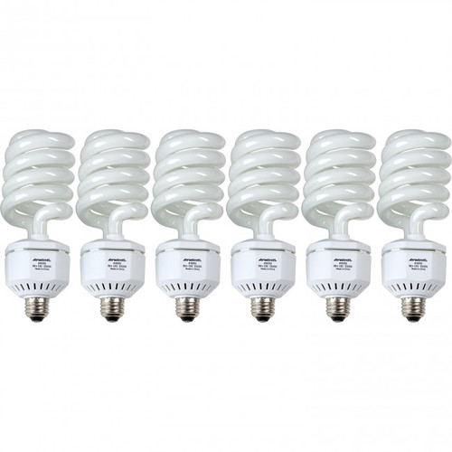Westcott 50W 6-Pack Daylight Fluorescent Lamps for Spiderlite TD6 (110V)