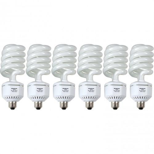 Westcott 50W 6-Pack Daylight Fluorescent Lamps for Spiderlite TD6 (110V)