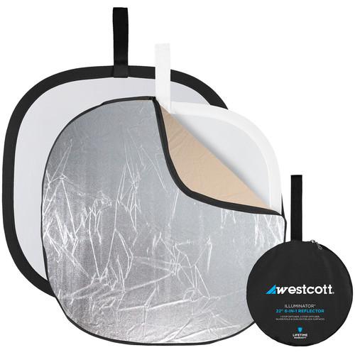"""Westcott Illuminator Reflector Kit 6-in-1 (20"""")"""