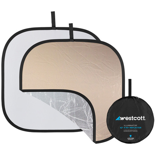 Westcott Illuminator Reflector 4-in-1 - 42""