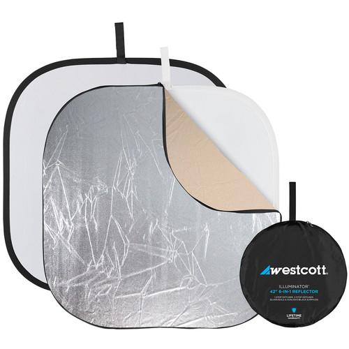 """Westcott Illuminator Reflector Kit 6-in-1 - 42"""""""