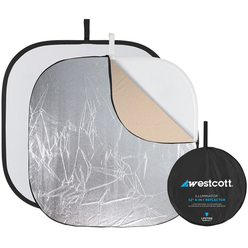 """Westcott Illuminator Reflector Kit 6-in-1 - 52"""""""