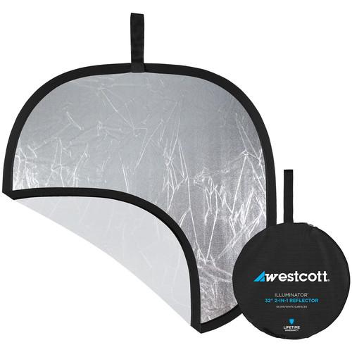 "Westcott 30"" Silver/White Reflector"