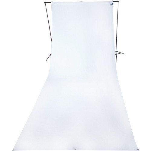 Westcott 9 x 20' Wrinkle-Resistant Cotton Backdrop (Hi Key White)