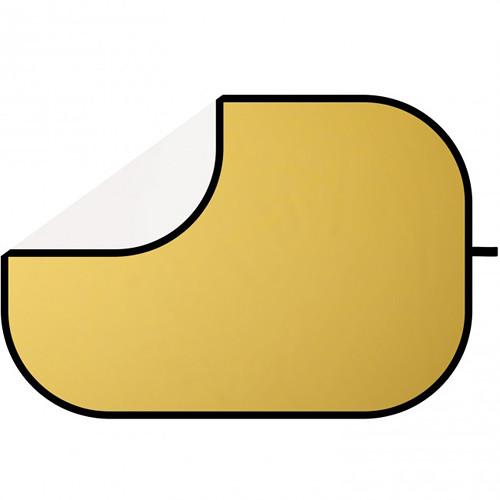 "Westcott Reflector - 48x72"" - Gold, White"
