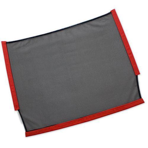 "Westcott Scrim Fabric Only - 18x24"" - Black Double Net"
