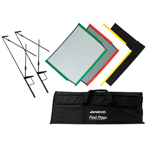 Westcott Fast Flags Scrim Kit