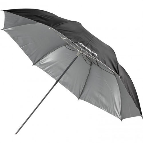 Westcott Umbrella - Soft Silver, Collapsible Compact - 43""