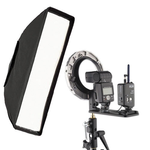 Westcott Asymetric Strip Softbox with Magic Slipper Kit