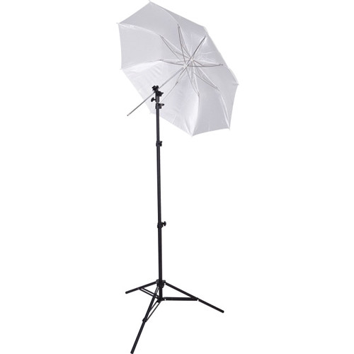 "Westcott 43"" Collapsible Umbrella Flash Kit with Stand"