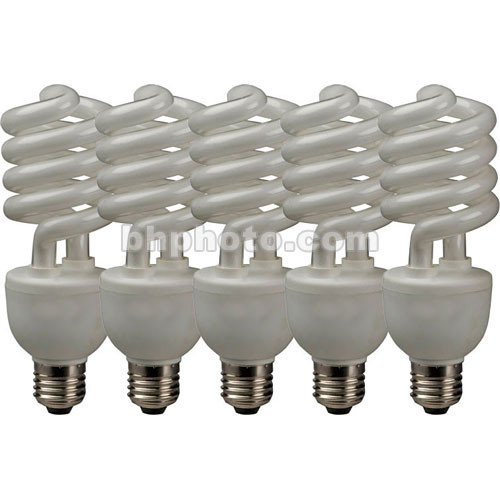 Westcott 30W Fluorescent Lamps for Spiderlite TD5, 5 Pack (120V)