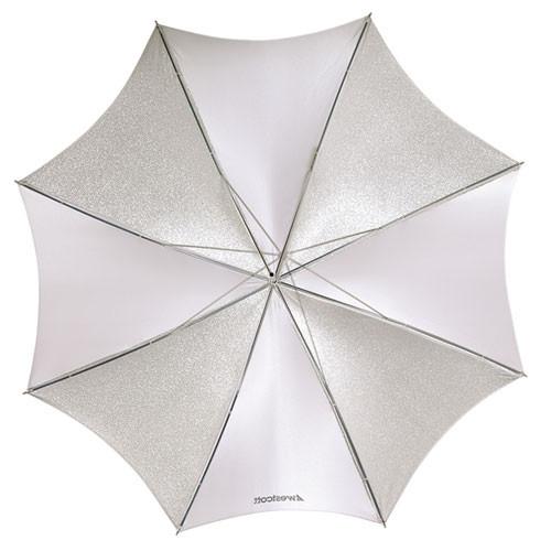 "Westcott Umbrella, Soft Silver - 45"" (114cm)"