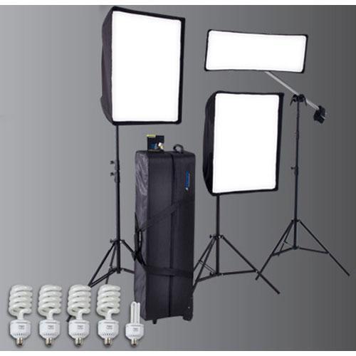 Westcott Window Light Three Light Kit Plus 2100 (120VAC)