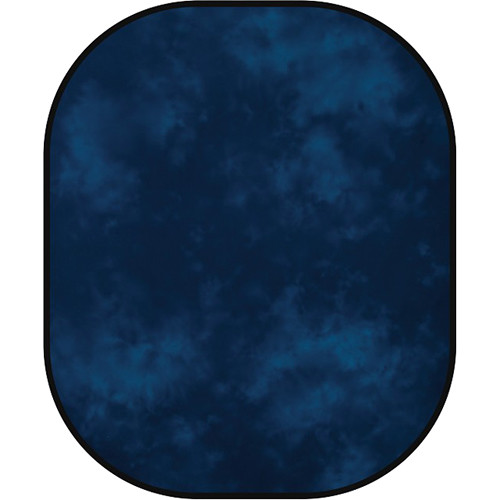 Westcott 6x7' Muslin Collapsible Background - Moonlight