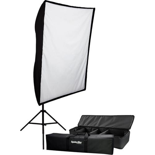 Westcott 600W Spiderlite TD5 Large Shallow Bank Softbox Kit (120V)