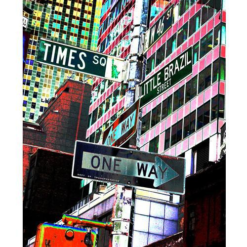 Westcott Scenic Background (5x6', Times Square)