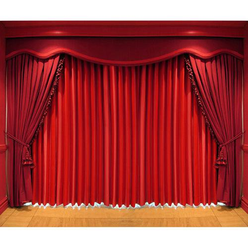 Westcott Scenic Background (5x6', Stage Curtain)