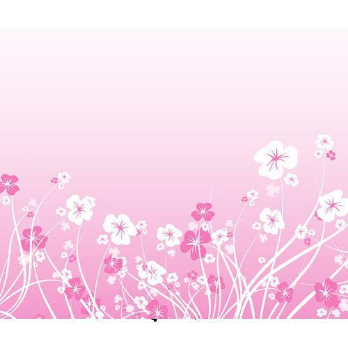 Westcott Scenic Background (5x6', Pink Daisies)